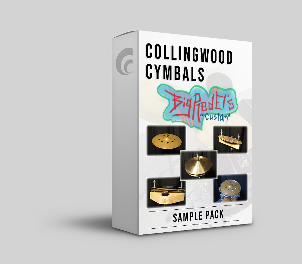 Digital Sample Pack - Collingwood Cymbals & Big Red El Cymbal FX Sample Pack