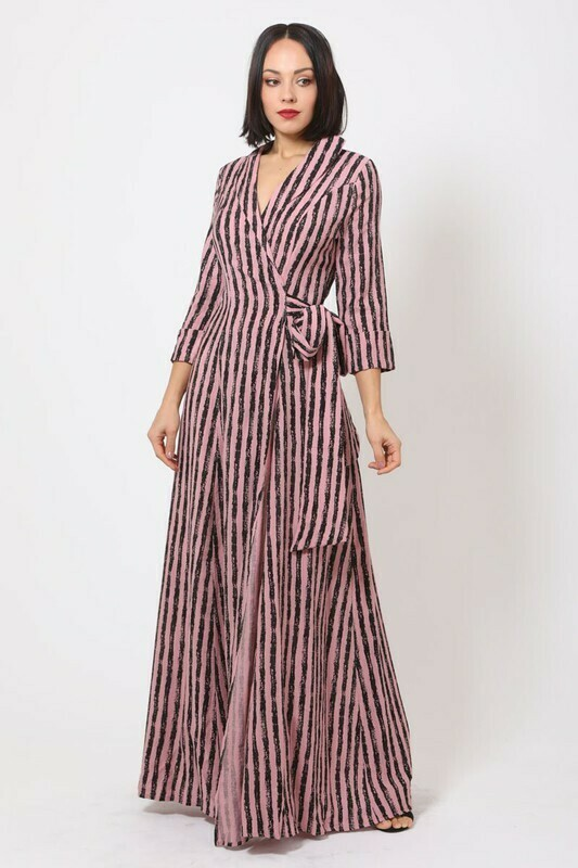 Val wrap dress