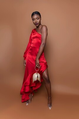 Carriet Red Dress