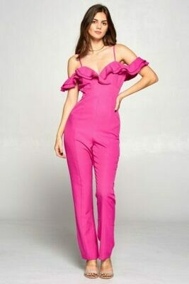 Chic Drop Shoulder Jumpsuit