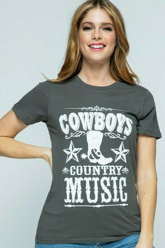 Cowboy Graphic Tshirt