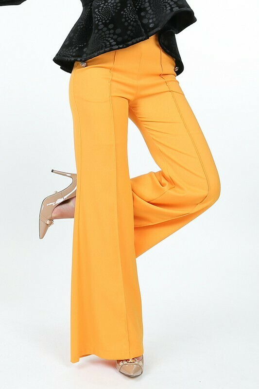 Marigold Button Pants