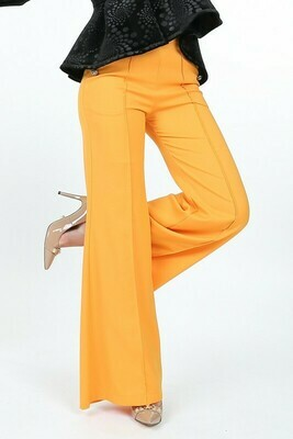 Marigold Button Pants