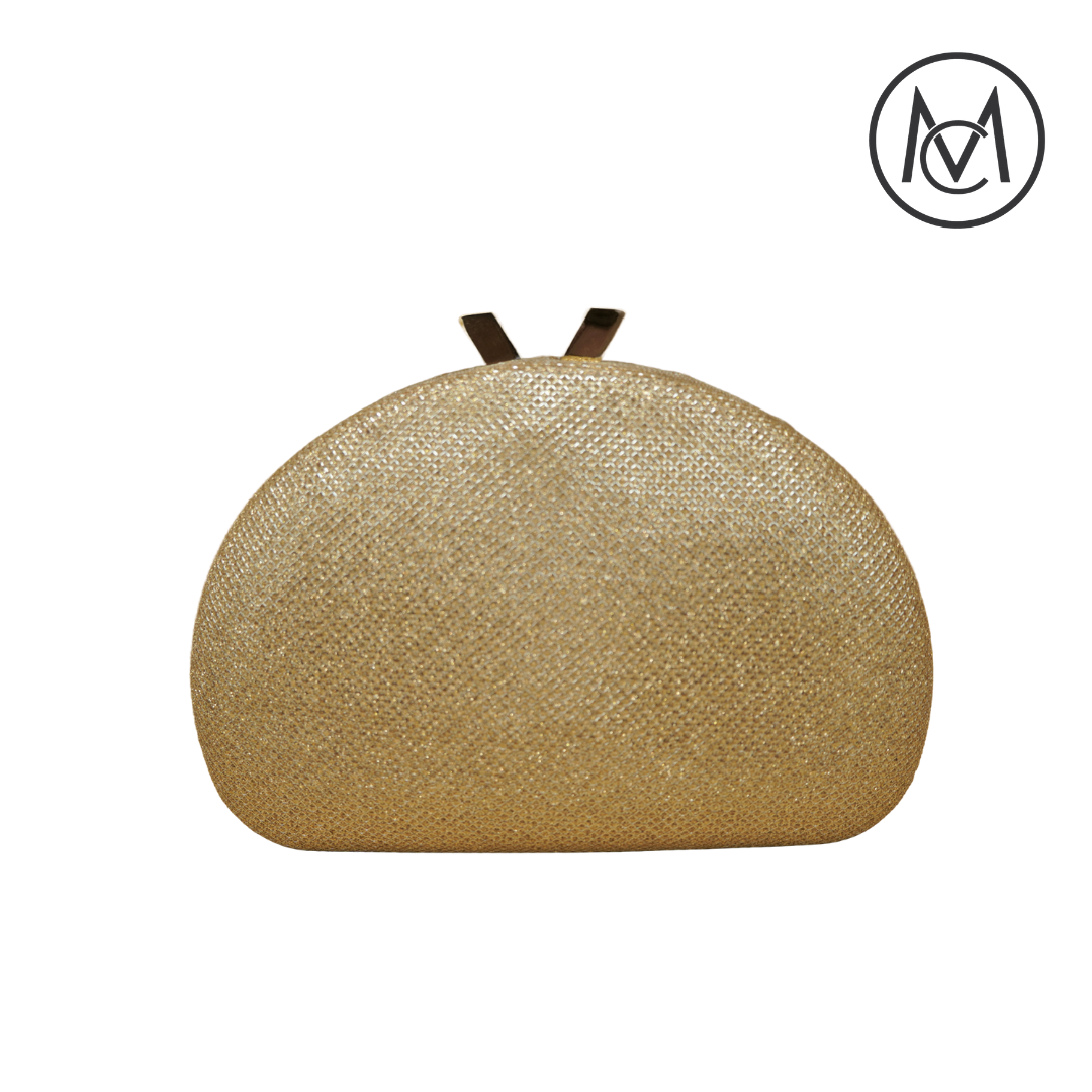 Gold Dome shape clutch
