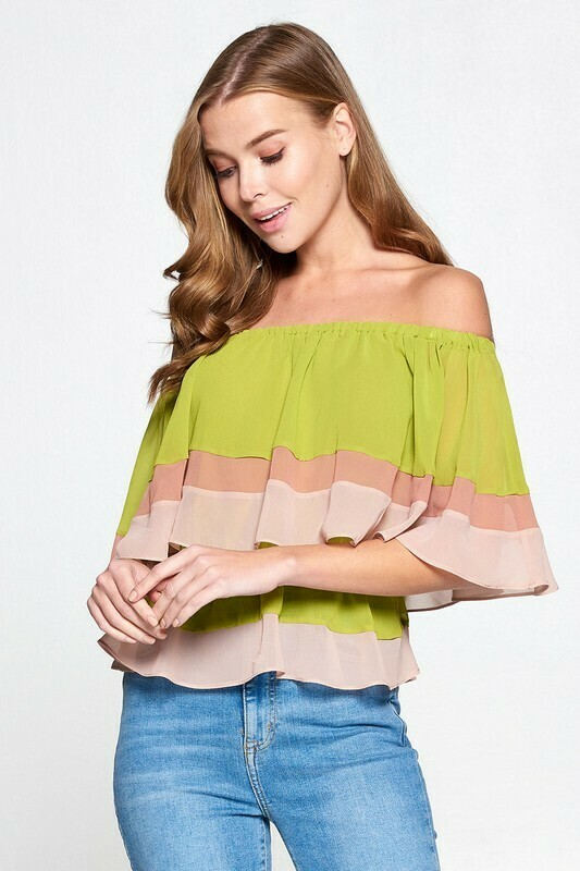 Chic Off Shoulder Blouse