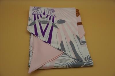 Multi-colored purple scarf