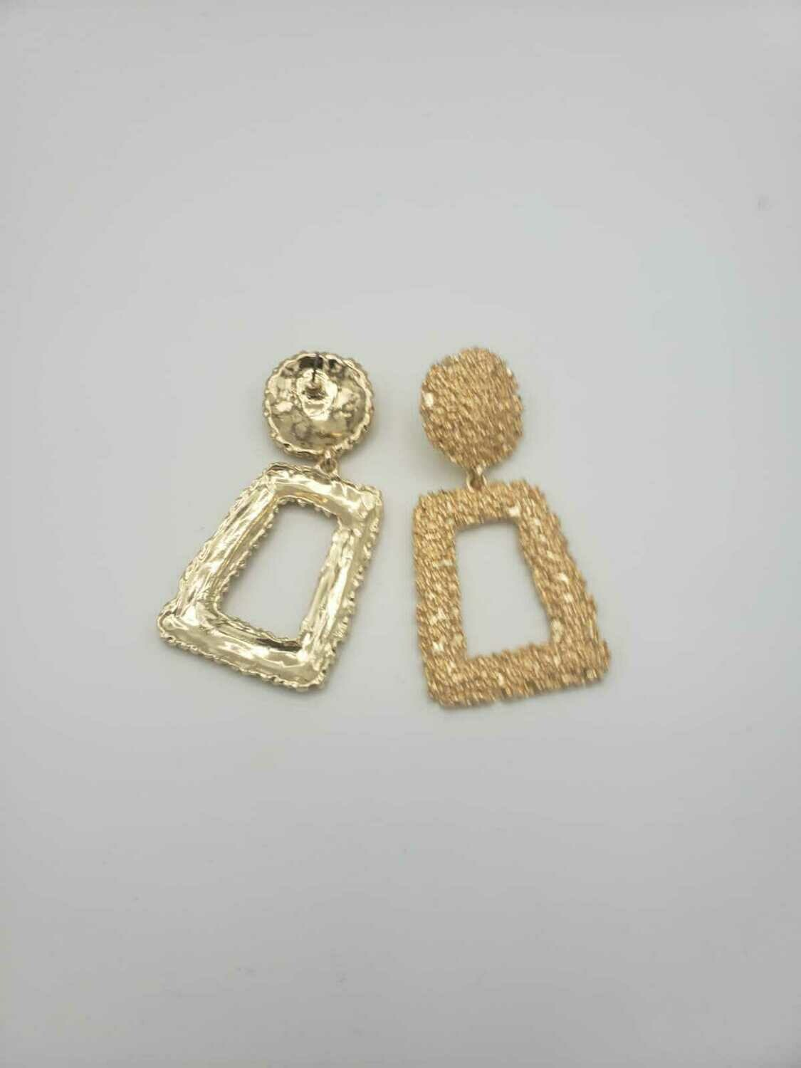 Gold Class Earrings