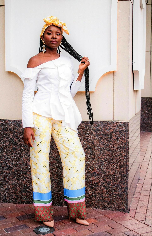 Celeste Print Pants