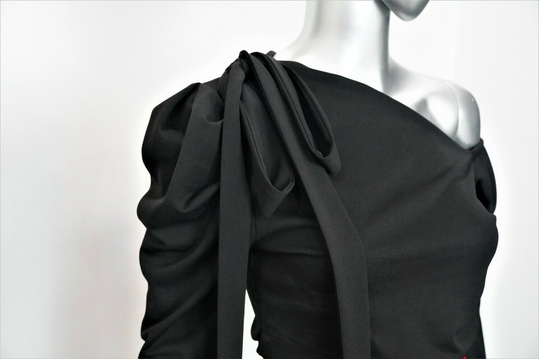 Asymmetrical Off the Shoulder Top