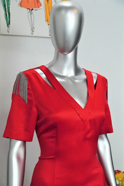 Signature Embellished Dress