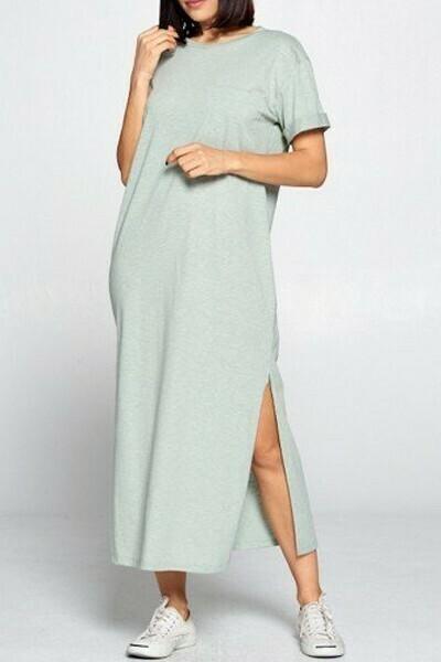 Sage Lounge Dress