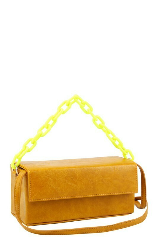Boxy Flap Satchel