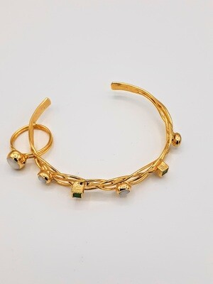 Gold set Bangle/Ring
