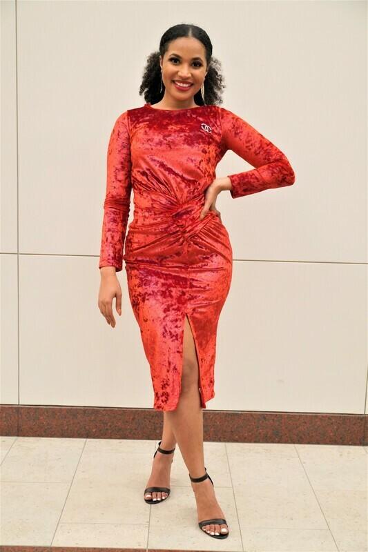 Julyet Velvet Dress