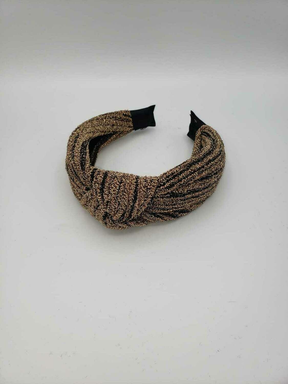 Nude Glitter headband