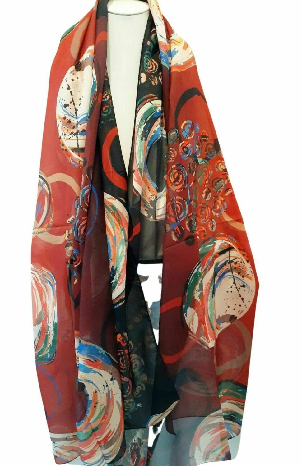 Hand Painted Scarves