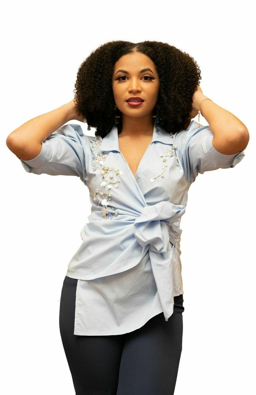 Bianca Wrap Shirt