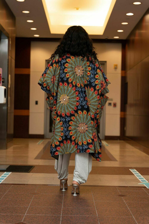 Baski Kimono- Embelished