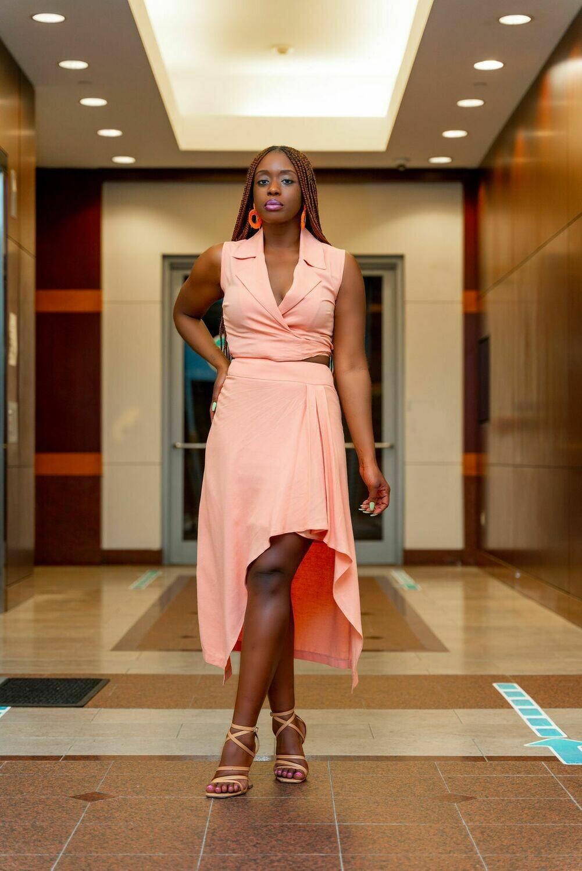 LFRosy Skirt set