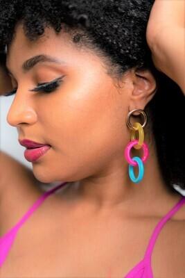 Pane Earring