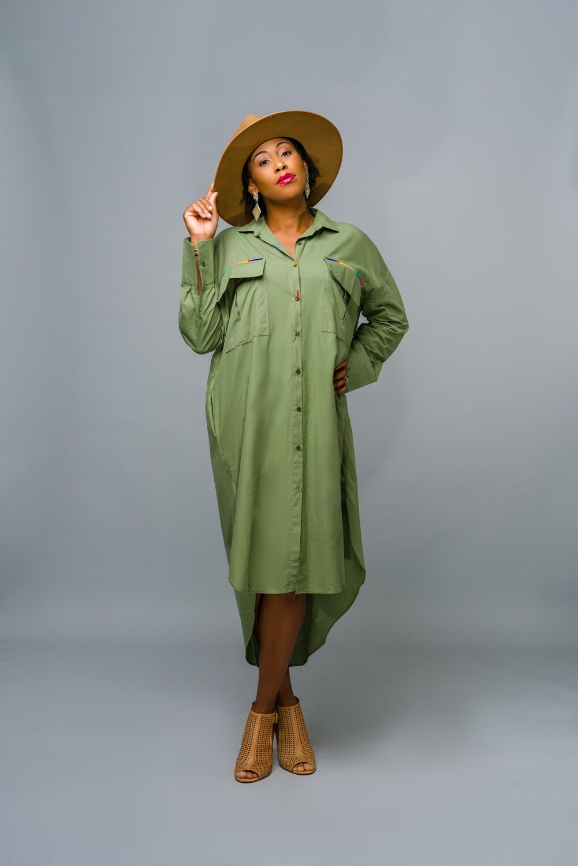 Jamila Shirt Dress