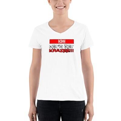 Let's Get Krazee V-Neck Shirt