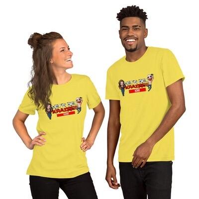 Let's Get Krazee! KNN back Short-Sleeve Unisex T-Shirt