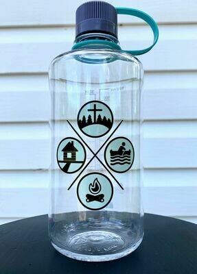 Clear GSBC Waterbottle (Small Lid)