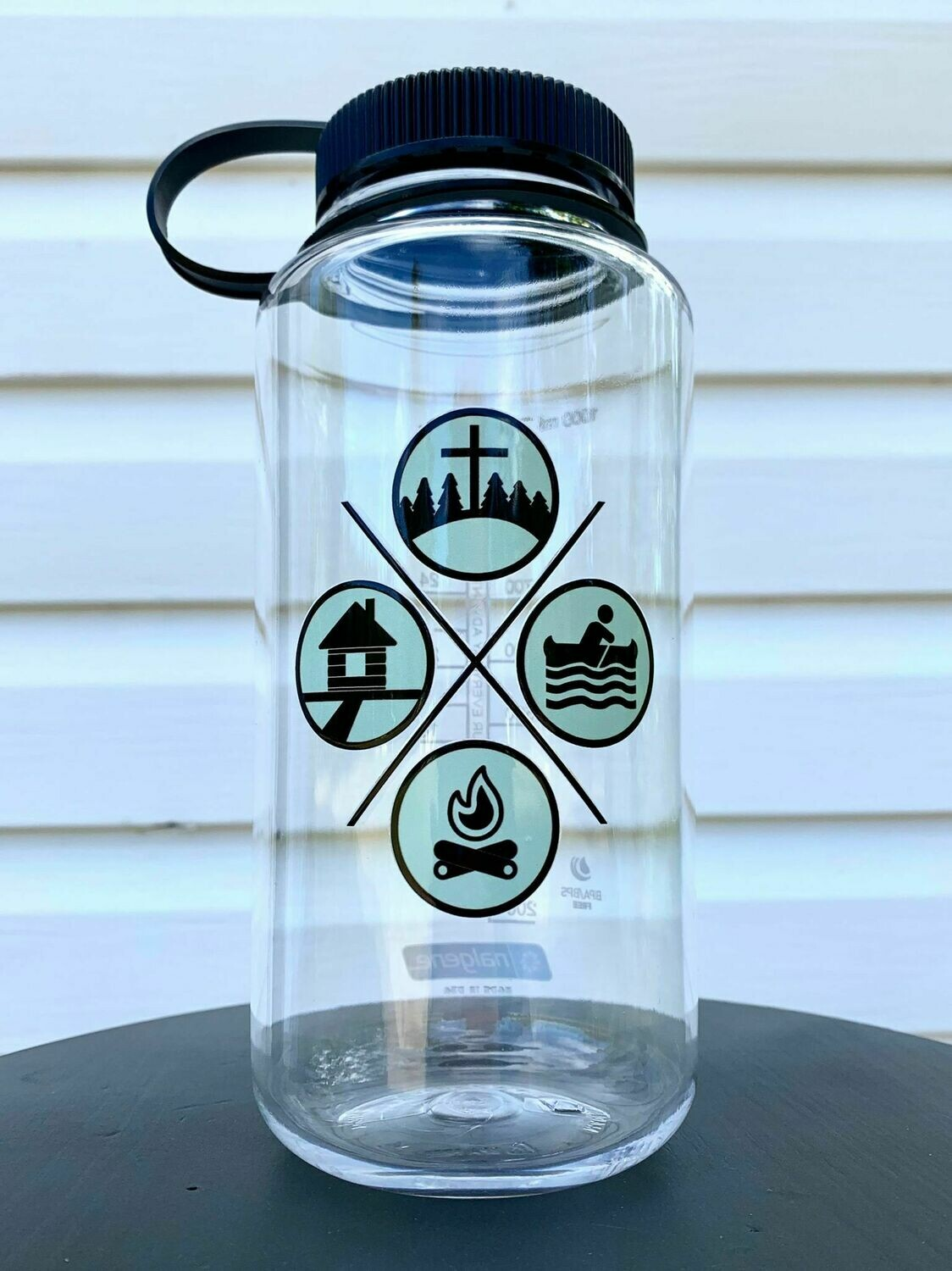 Clear GSBC Waterbottle (Large Lid)