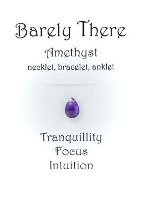 Amethyst - Invisible Necklet, Bracelet, Anklet