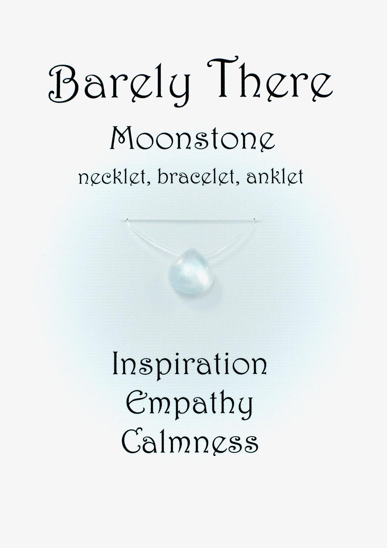 Moonstone - Invisible Necklet, Bracelet, Anklet