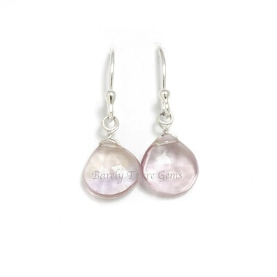 Ametrine, Sterling Silver, Drop Earrings