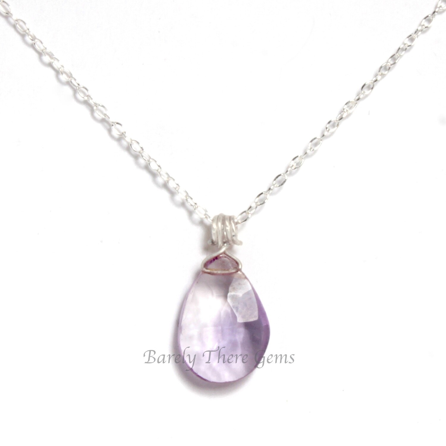 Ametrine, Sterling Silver. Necklace
