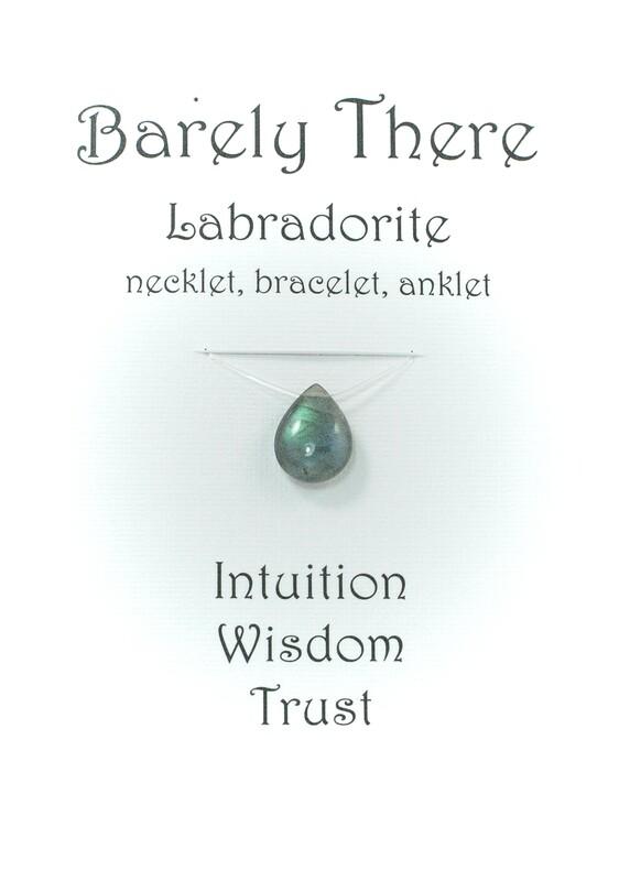 Labradorite - Invisible Necklet, Bracelet, Anklet