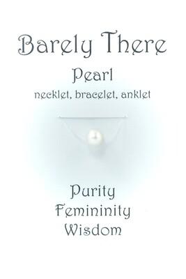 Pearl - Invisible Necklet, Bracelet, Anklet