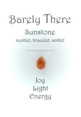 Sunstone - Invisible Necklet, Bracelet, Anklet