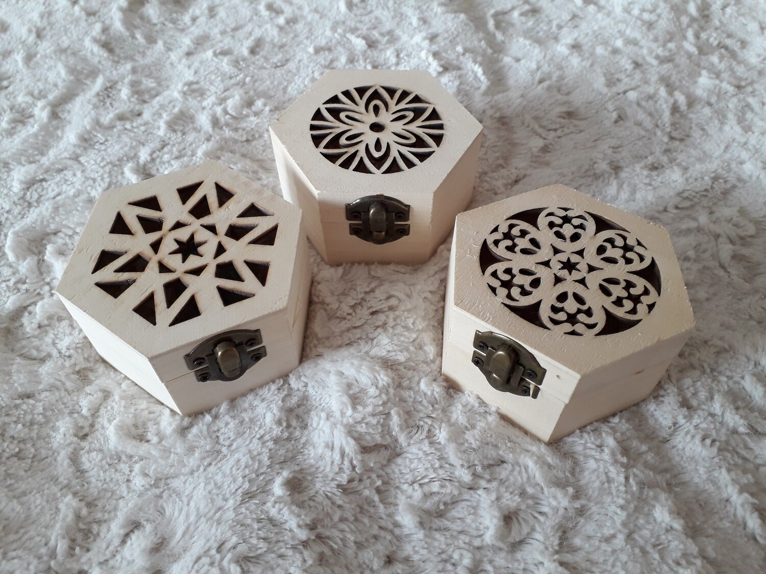 Small Yoni egg sacred geometry box: for single egg (with additional  options)