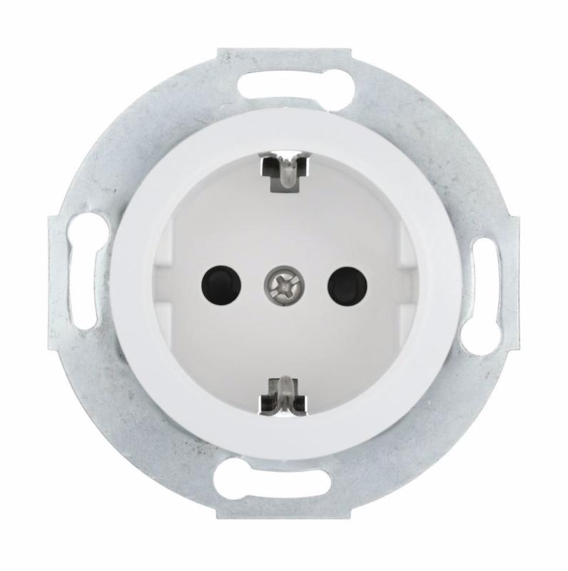 Socket outlet, white