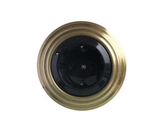 Golden bronze socket
