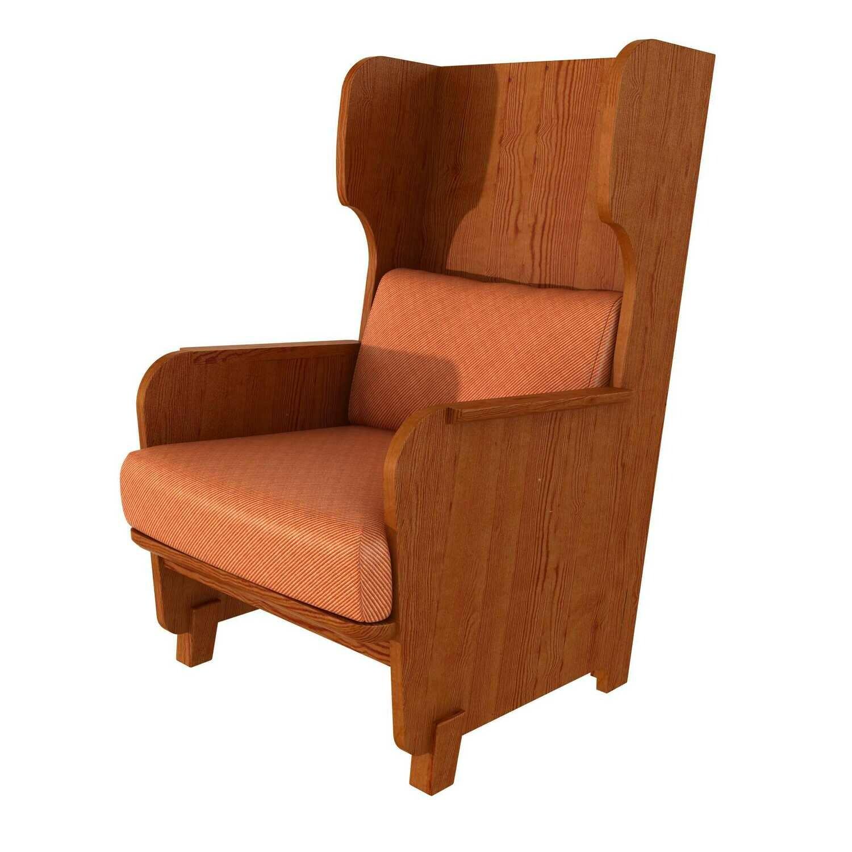 """High-backed armchair """"Lovo"""""""