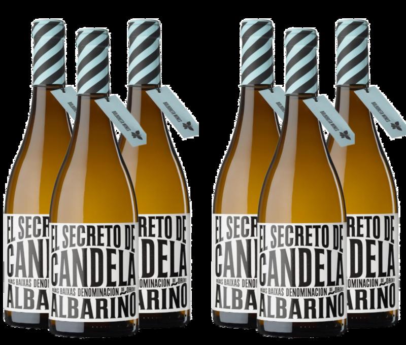 Caja 6 Botellas de EL SECRETO DE CANDELA