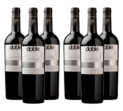 Caja de 6 Botellas de DOBLE R CRIANZA