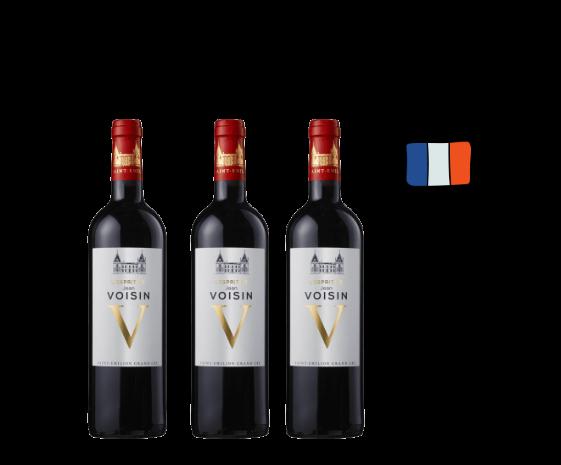 Caja 3 botellas de L'Esprit de Jean Voisin
