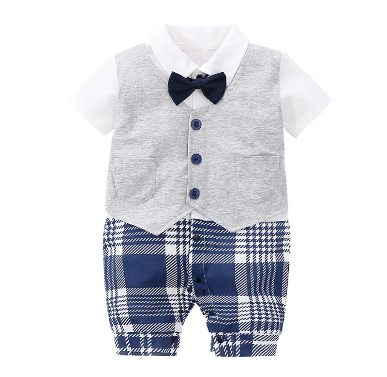 Baby Boy Tuxedo Onsie