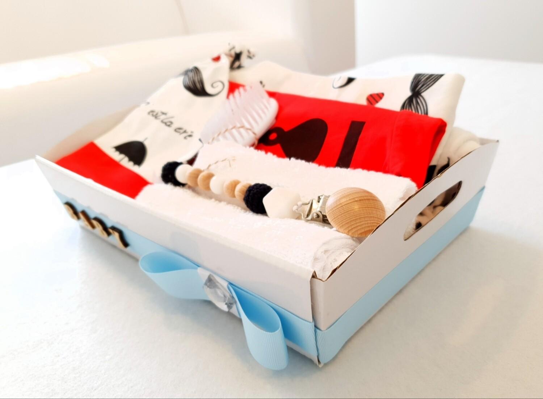 LADIEZ MAN (RED) baby bundle