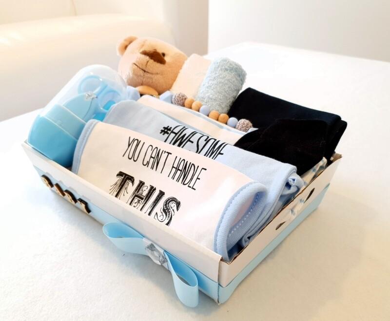 LADIEZ MAN blue baby bundle