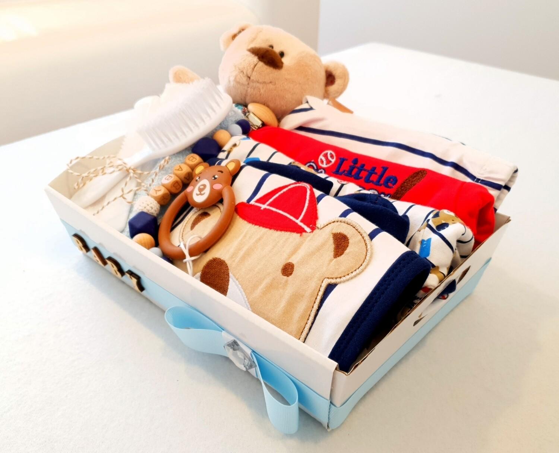 BASEBALL BEAR baby bundle