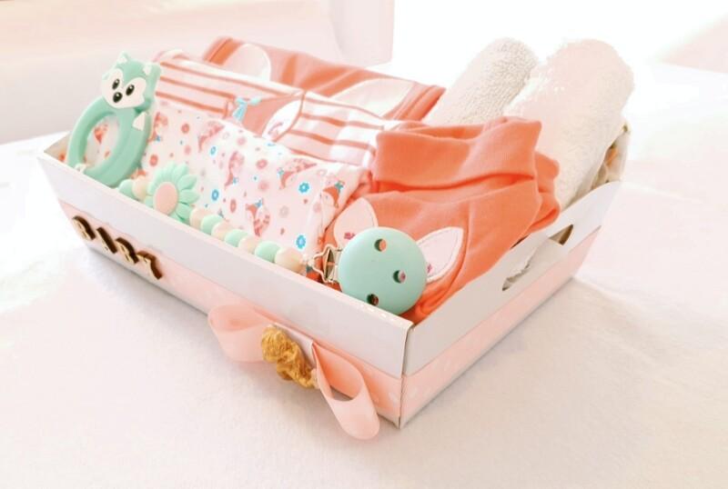 FLORAL FOX baby bundle