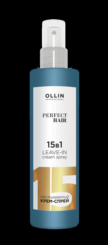 OLLIN PERFECT HAIR 15in1 nenuplaunamas kremas plaukams 250 ml