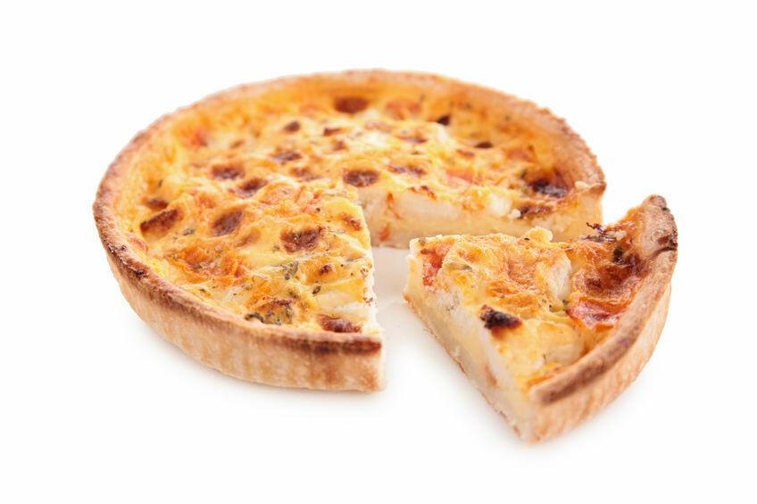 Quiche épinards et fromage de chèvre (9'')